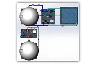 无坝抽水电能大规模存储技术